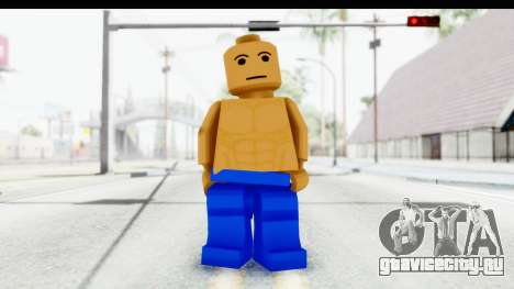 LEGO Carl Johnson для GTA San Andreas второй скриншот