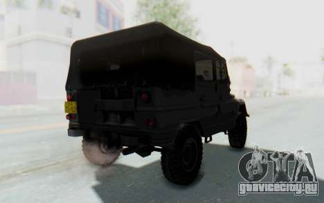 УАЗ-460Б для GTA San Andreas вид сзади слева