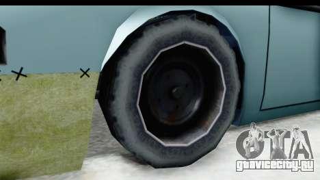 Fortune Korc для GTA San Andreas вид сзади