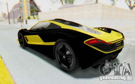 GTA 5 Progen T20 Devil PJ для GTA San Andreas салон