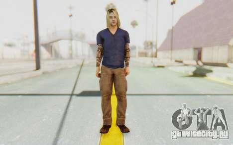 Kurt Cobain для GTA San Andreas второй скриншот