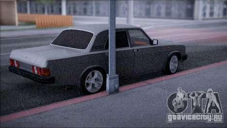 ГАЗ 31029 V8 для GTA San Andreas вид сзади слева