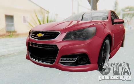 Chevrolet Super Sport 2014 для GTA San Andreas вид справа