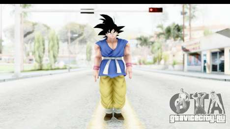 Dragon Ball Xenoverse Goku GT Adult SJ для GTA San Andreas второй скриншот