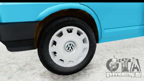 Volkswagen T4 для GTA San Andreas вид сзади