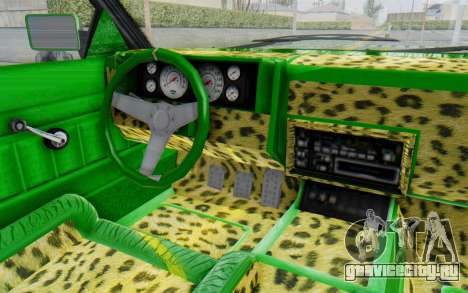 GTA 5 Willard Faction Custom Donk v3 для GTA San Andreas вид изнутри