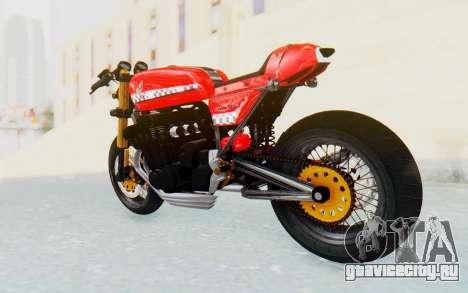 Honda CB750 Moge Cafe Racer для GTA San Andreas вид слева