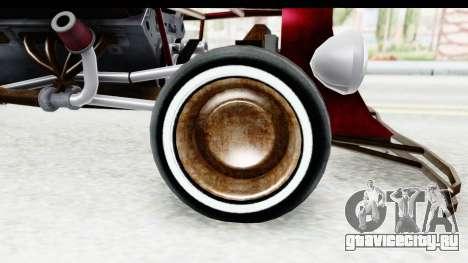 Unique V16 Fordor Ratrod для GTA San Andreas вид сзади