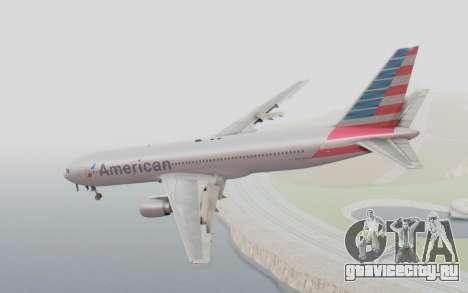 Boeing 767-300ER American Airlines для GTA San Andreas вид слева