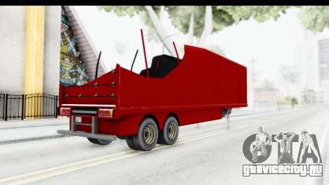 Renault Magnum TopGear Trailer для GTA San Andreas вид слева