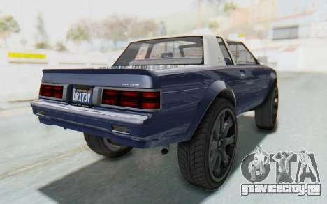 GTA 5 Willard Faction Custom Donk v3 IVF для GTA San Andreas вид сзади слева
