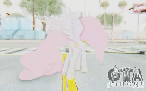 Princess Molestia MLP для GTA San Andreas третий скриншот
