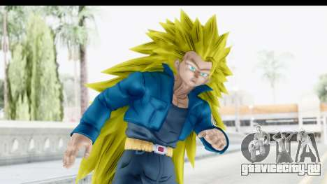 Dragon Ball Xenoverse Future Trunks SSJ3 для GTA San Andreas