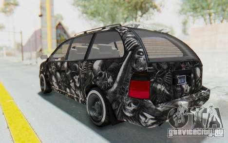 GTA 5 Vapid Minivan Custom without Hydro для GTA San Andreas