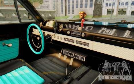 GTA 5 Declasse Voodoo PJ для GTA San Andreas вид изнутри