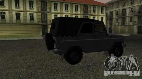 УАЗ-469 для GTA San Andreas вид справа