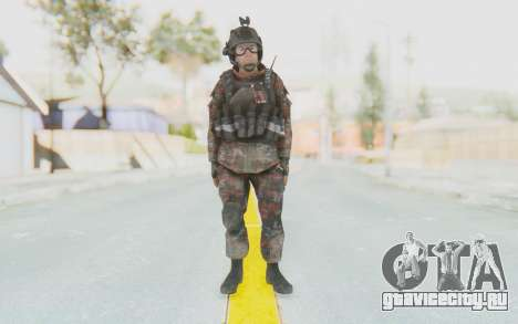 COD MW2 Russian Paratrooper v2 для GTA San Andreas второй скриншот