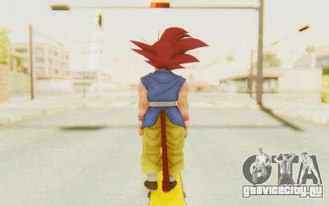 Dragon Ball Xenoverse Goku Kid GT SSG для GTA San Andreas третий скриншот