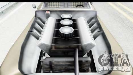 Hermes Ratrod для GTA San Andreas вид сзади