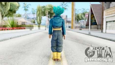 Dragon Ball Xenoverse Future Trunks SSGSS для GTA San Andreas третий скриншот