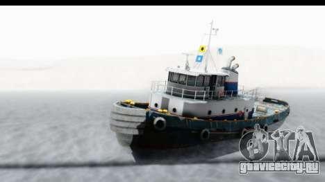 GTA 5 Buckingham Tug Boat v2 IVF для GTA San Andreas