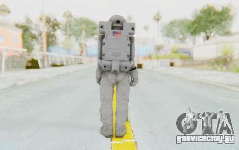CoD Ghosts USA Spacesuit для GTA San Andreas третий скриншот