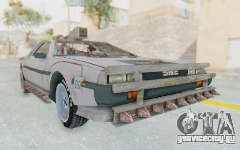 DeLorean DMC-12 2012 End Of The World для GTA San Andreas