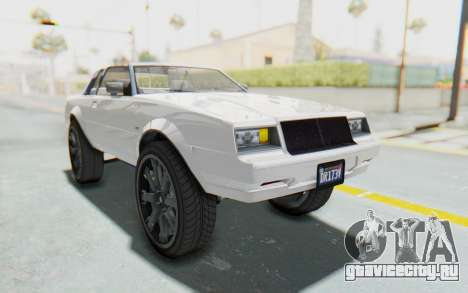 GTA 5 Willard Faction Custom Donk v2 для GTA San Andreas вид справа