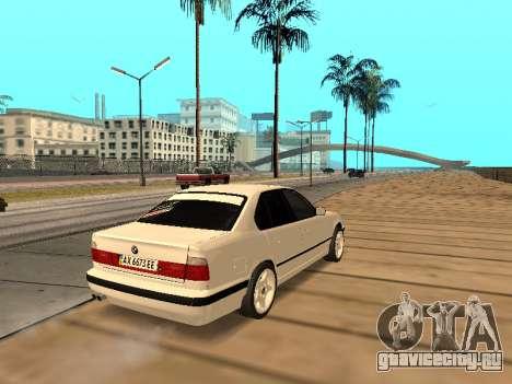 BMW E34 - EK edition для GTA San Andreas вид справа