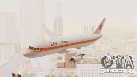 Airbus A320-200 Japanese Air Force One для GTA San Andreas