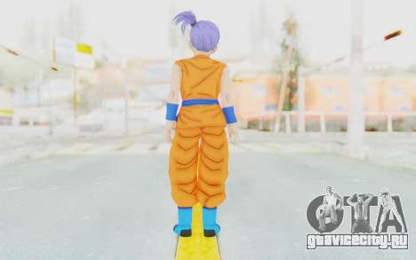 Dragon Ball Xenoverse Female Saiyan SJ для GTA San Andreas третий скриншот