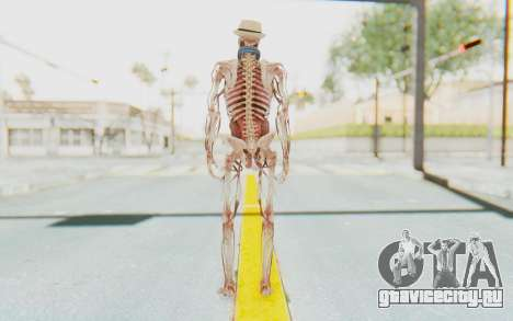 Skeleton with Hat and Glasses для GTA San Andreas третий скриншот