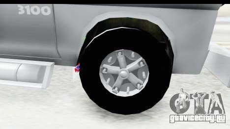 Chevrolet 3100 Diesel v2 для GTA San Andreas вид сзади