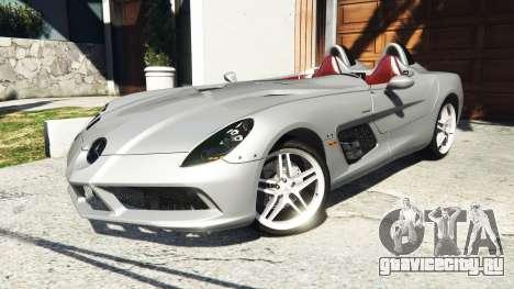 Mercedes-Benz SLR McLaren 2009 для GTA 5 руль и приборная панель