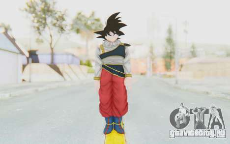 Dragon Ball Xenoverse Goku Yardrat Clothes для GTA San Andreas второй скриншот
