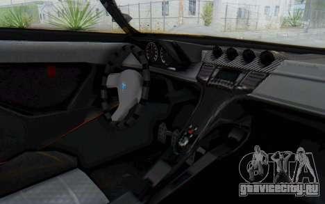 GTA 5 Grotti Prototipo v1 IVF для GTA San Andreas вид сзади