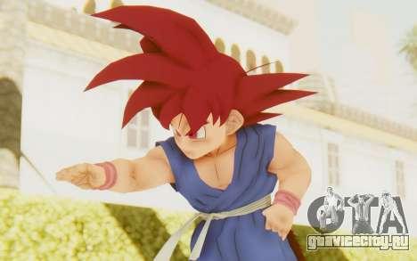Dragon Ball Xenoverse Goku Kid GT SSG для GTA San Andreas
