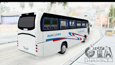 Neoplan Lasta Bus для GTA San Andreas вид сзади слева