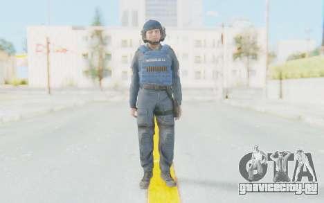 Interventna Jedinica Policije Srbije для GTA San Andreas второй скриншот