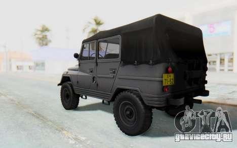 УАЗ-460Б для GTA San Andreas вид слева