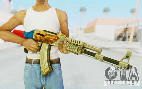 AK-47A1 Russian Flag для GTA San Andreas