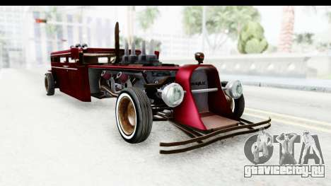 Unique V16 Fordor Ratrod для GTA San Andreas вид справа