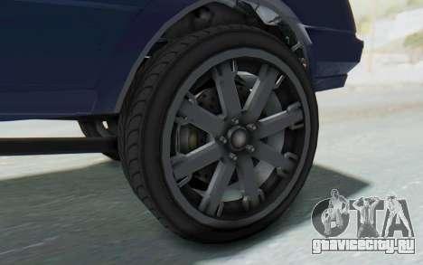 GTA 5 Willard Faction Custom Donk v3 IVF для GTA San Andreas вид сзади