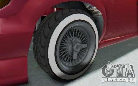 GTA 5 Vapid Minivan Custom without Hydro для GTA San Andreas вид сзади