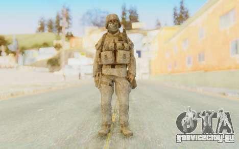 CoD MW2 Ghost Model v4 для GTA San Andreas второй скриншот