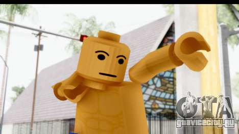 LEGO Carl Johnson для GTA San Andreas