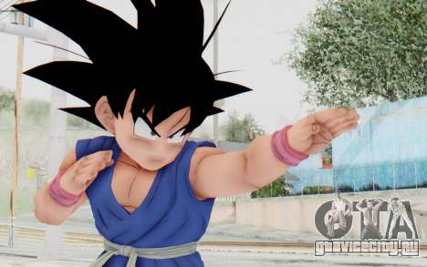 Dragon Ball Xenoverse Goku Kid GT SJ для GTA San Andreas