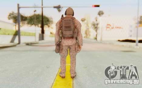 CoD MW2 Ghost Model v2 для GTA San Andreas третий скриншот