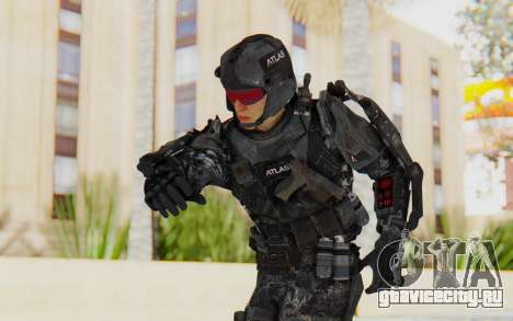 CoD Advanced Warfare ATLAS Soldier 1 для GTA San Andreas