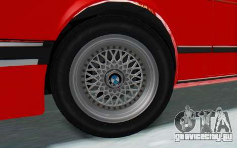 BMW M635 CSi (E24) 1984 IVF PJ2 для GTA San Andreas вид справа